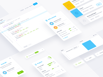 Gamification of edtech platform 🏆 learning app learning gamification code code editor education edtech platform edtech ui elements ui components styleguide design library design systems design system design kit design elements components component library component design component