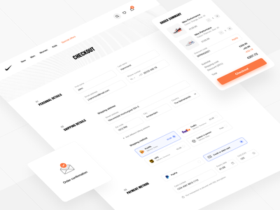 One-page checkout ecommerce form design forms form checkout checkout page checkout form checkout process ecommerce app ecommerce website ecommerce design webshop shop ecommerce business form field payment creditcard credit card form credit card payment credit card