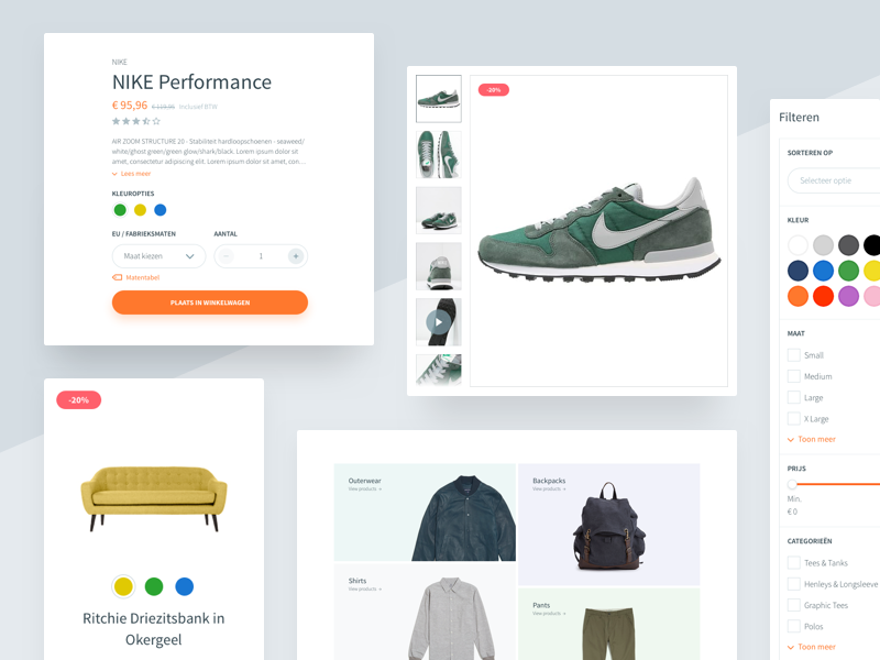 webshop design Webshop Design Framework by Heavyweight | Dribbble | Dribbble webshop design