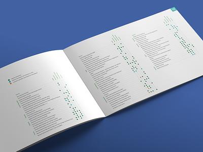 EATRIS – Annual Report teal legend brochure magazine dtp report identity print brand