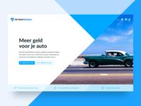 Dé AutoMakelaar - Landing Page