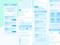 Needle – Mobile Wireframes