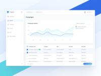 Marketing Platform – Dashboard UI