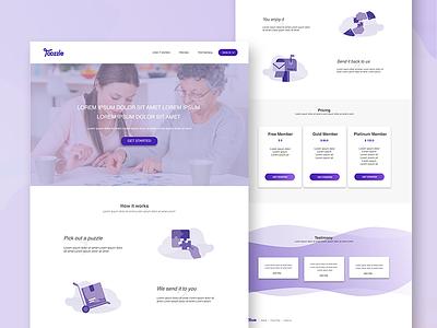 Toozzle LandingPage graphic designer ui design illustration mac landing page icon aplication app