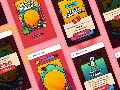 Bedug BLANJA android game app aplication ios designer illustration ui app