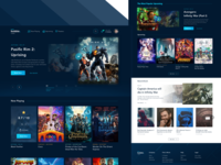 Cinema Booking #1 Landing Page Exploration