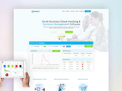 EzBilling UI/Visual Design web deisgn design ux uidesign ux ui design