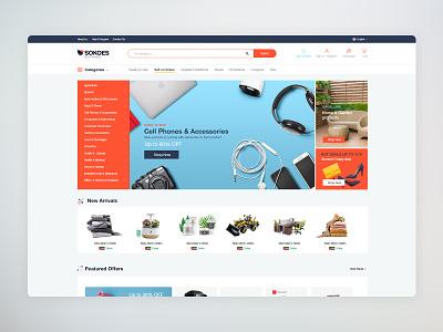 E-commerce UI/UX Website design web deisgn ux web ux ui design