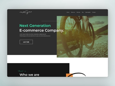 Marketing Agency Website design design logo ui uidesign web deisgn ux ui design