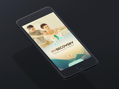 Recovery app - UI design ux web deisgn uidesign app design