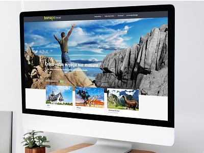 Bonogo Travel ui typography uidesign ux ux ui design