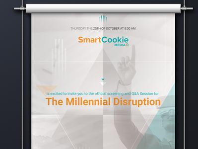 Poster I Millennial Distruption