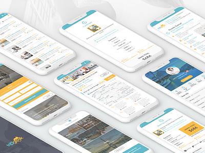 Travel App app designer design app design ui app ux ui design ux