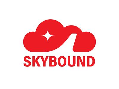 #12 Skybound airport sunset beach ui identity skybound jet airplane plane vacation holiday airline travel logodesign logo dailylogo dailylogochallengeday12 dailylogochallenge