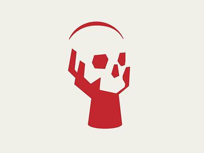 Drama Logo identity acting group branding logo design branding logodesigns theater branding skull hand macbeth dramatic acting movie theatre murder blood red mark logo shakespear drama
