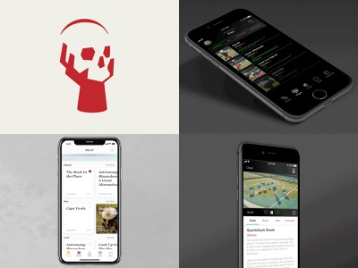 2018 ui mark identity football app app logo