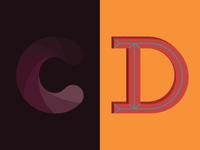 36 Days of Type: C & D