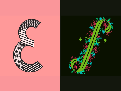 36 Days of Type: E & F letters lettering 36daysoftype