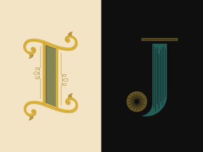 36 Days of Type: I & J lettering 36daysoftype