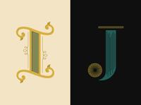 36 Days of Type: I & J