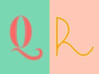 36 Days of Type: Q & R
