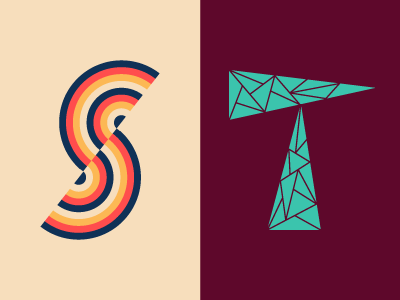36 Days of Type: S & T lettering typography 36daysoftype