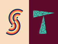 36 Days of Type: S & T