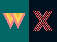 36 Days of Type: W & X