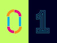 36 Days of Type: 0 & 1