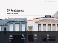 Web ui for real estate agency