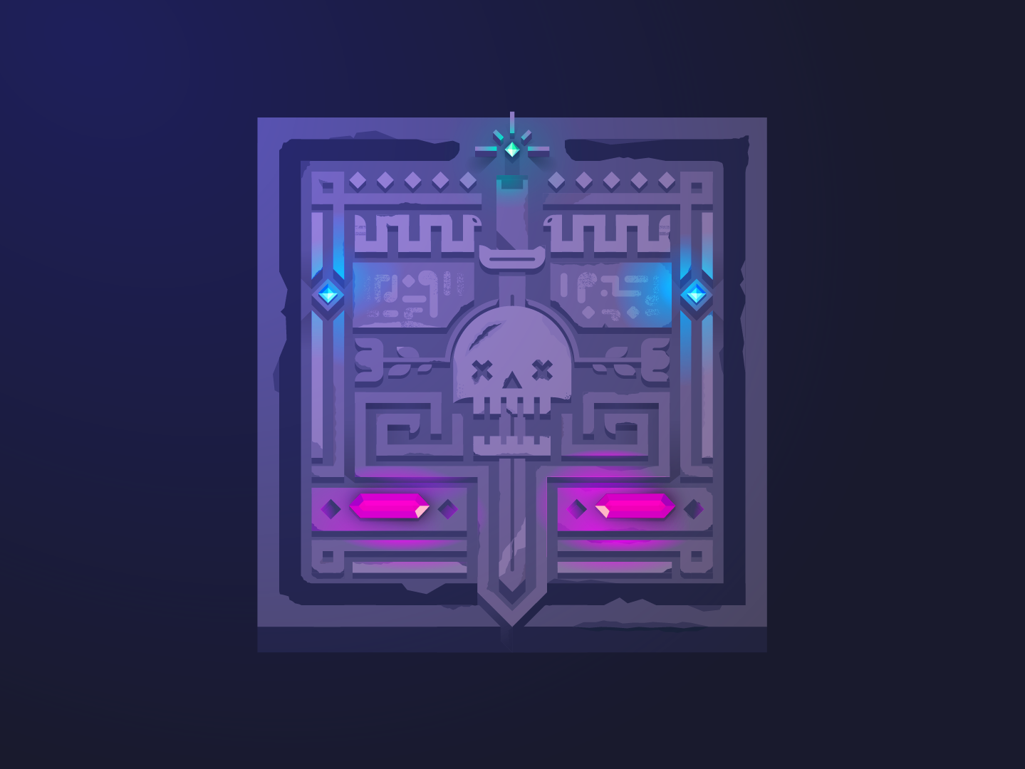 Cursed Tablet by Hash Elias on Dribbble