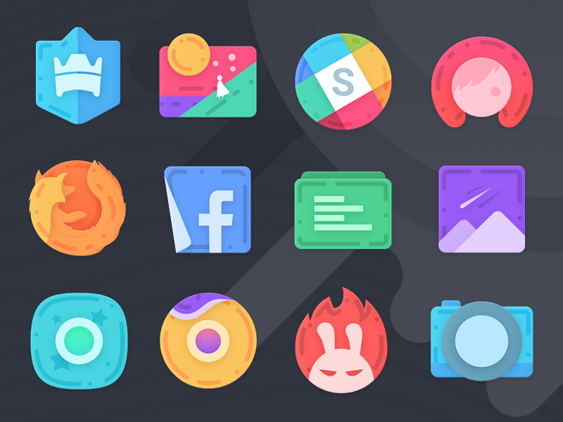 Lenyo Icons Preview icon pack android design icons