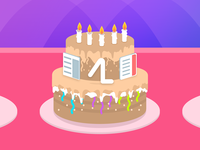 Happy Birthday Action Launcher