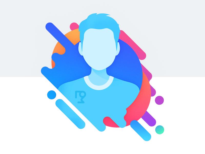 Profile Avatar Image portrait picture colors design png avatar image profile