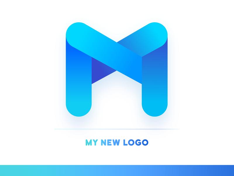 My New Max Logo id new logo illustartor letters max shape logo design