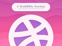 3 Dribbler Invites