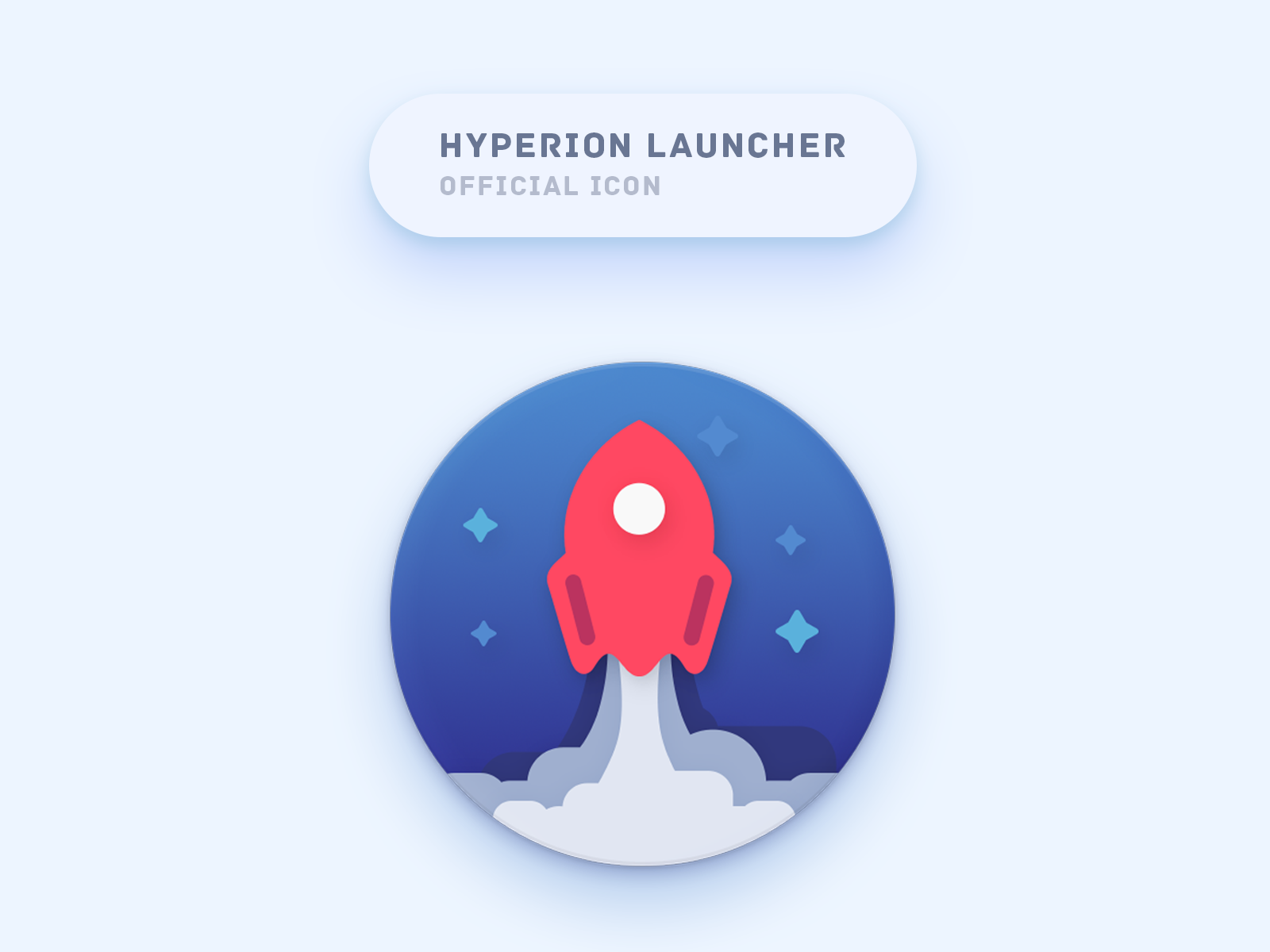 Hyperion  Launcher Official Icon android hyperion launcher icon product icon illustartion design product icon launcher