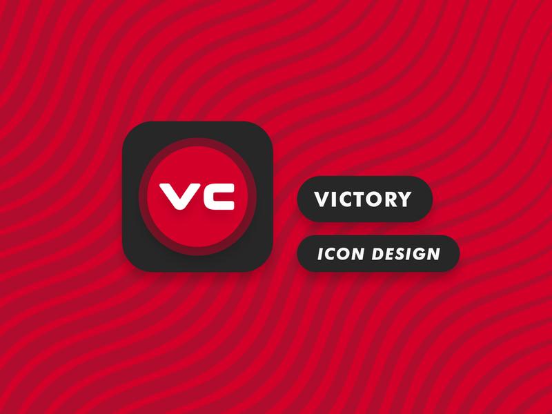 Victory Substratum Theme Icon Design substratum victory theme android icon app product design icon