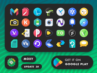 Moxy Android Icons