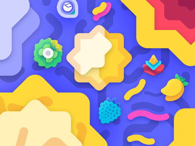 Under The Sea water design icons pack photoshop illustartion art under the sea sea banner android max packs icons corvy cornie aivy lenyo ango moxy