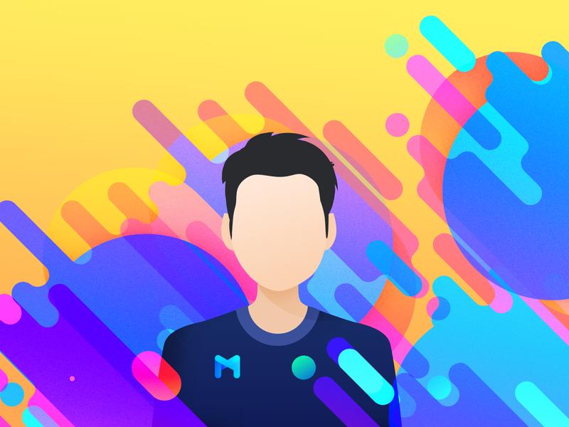 New Profile Image Design profile design profile page profile image logo photoshop layers colors avatar portrait profile