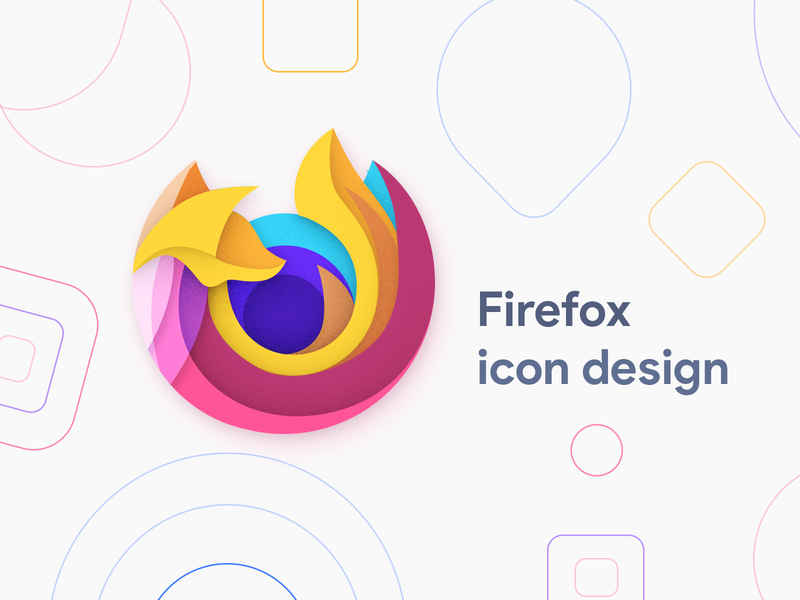 Firefox Icon Concept moxy icon pack app android icon design logo firefox
