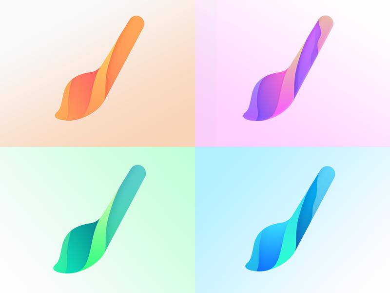 Brush Logo Design product icon preview vector art illustration illustrator application maker themes app android desing logo bursh