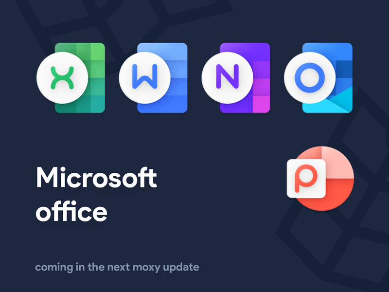 Microsoft Office icons redesign product icons moxy microsoft office microsoft onedrive excel onenote outlook powerpoint icons office word