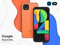 Google Pixel 4/4XL Vector Mockup branding illustration design source file photoshop psd preivew pixel xl google pixel wireframe device mockup vector android pixel 4 pixel google