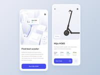 Scooter Rent App – Concept