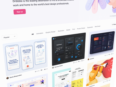 Welcome to Dribbble teaser secret branding web website design ux ui