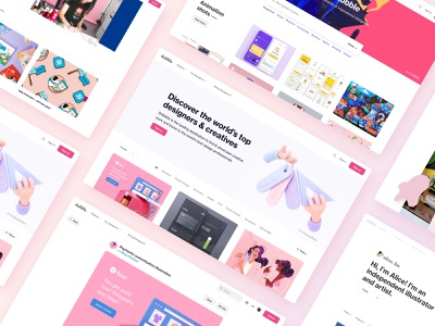 Introducing: A brand new Dribbble design ux ui launch new dribbble website