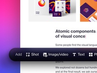 A new chapter 😎 dribbble web website ux ui design just a tease