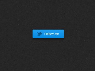 Follow Me Button twitter button follow blue black texture bird